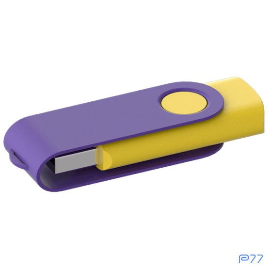 usb personalizzata twister color