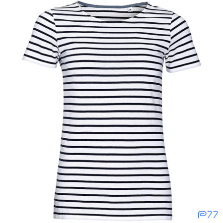 T-shirt Righe Donna